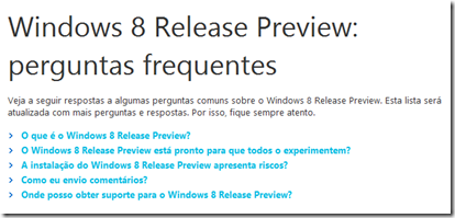 FAQ - Windows 8